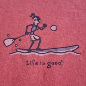 Life Is Good LIG Tshirt Small Relaxed